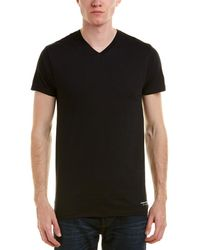 Kenneth Cole - 3pk Of V-neck T-shirts - Lyst