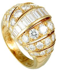 Cartier - Cartier 18k 3.85 Ct. Tw. Diamond Ring - Lyst