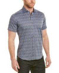 Robert Graham - Reiter Tailored Fit Woven Shirt - Lyst