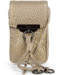 Kooba - Dionne Leather Crossbody Phone Pouch - Lyst