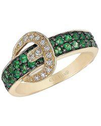 Le Vian - ? Gladiator Tsavorite, Vanilla Diamond & 14k Ring - Lyst