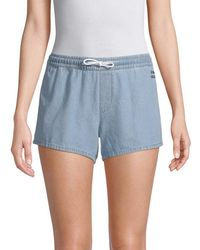 Être Cécile - Denim Drawstring Short - Lyst