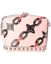 Louis Vuitton - Limited Edition Pink Epi Leather Chain Flower Lockit - Lyst
