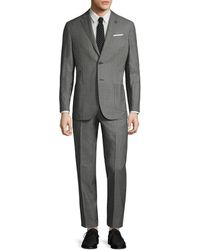 Michael Bastian - Gray Label Wool Mini Pindot Notch Lapel Suit - Lyst
