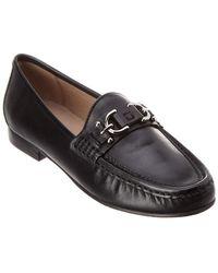 Donald J Pliner - Suzy Leather Loafer - Lyst