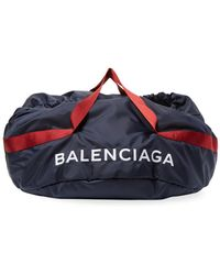 Balenciaga - Wheel Bag Medium Nylon Duffle - Lyst