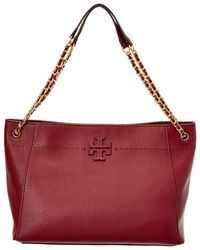 Tory Burch | Mcgraw Leather Shoulder Bag | Lyst
