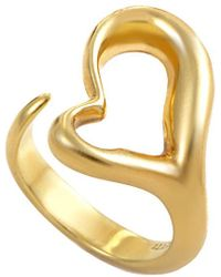 Heritage Tiffany & Co. - Tiffany & Co. 18k Heart Ring - Lyst