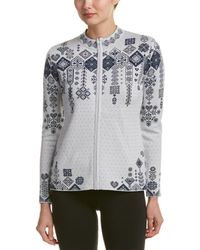 Obermeyer - Chalet Knit Wool-blend Cardigan - Lyst