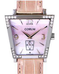 Corum - Women's Alligator Diamond Watch - Lyst