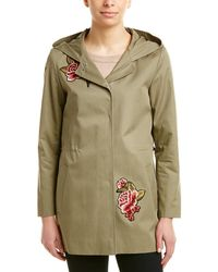 Cinzia Rocca - Icons Patched Trench Coat - Lyst