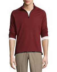 Perry Ellis - 360 Active Racer Top - Lyst