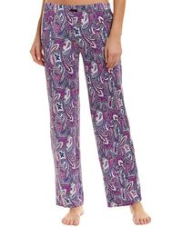 Ellen Tracy - Printed Pyjama Trousers - Lyst