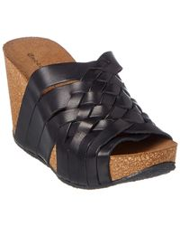 Chocolat Blu - Atlantic Leather Wedge Sandal - Lyst