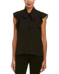 Bishop + Young - Bishop + Young Ruffle Top - Lyst