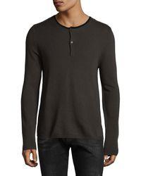 The Kooples - Merino Wool Sweatshirt - Lyst