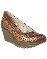 Fly London - Yika Leather Wedge - Lyst