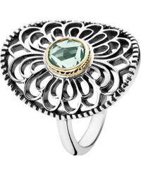 PANDORA - Vintage Allure 14k & Silver Ring - Lyst