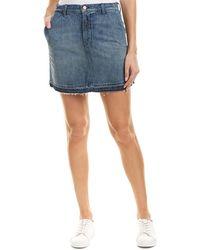 J Brand - High-rise Mini A-line Skirt - Lyst