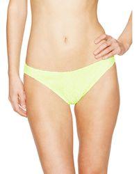 Shoshanna - Neon Crochet Bikini Bottom - Lyst