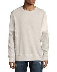 Twenty - Banded Crewneck Sweatshirt - Lyst