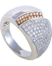 Chimento - 18k Two-tone 1.40 Ct. Tw. Diamond Ring - Lyst