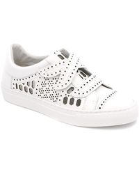 Rachel Zoe - Jaden Leather Sneaker - Lyst