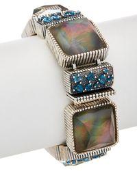 Stephen Dweck - Cypress Silver Gemstone & Pearl Bracelet - Lyst