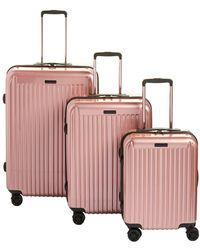 Anne Klein - Dubai 3-piece Hardside Spinner Luggage Set - Lyst