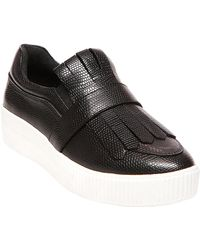 Steven by Steve Madden - Annalee Leather Trainer - Lyst
