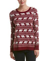 G.H.BASS - Animal Graphic Sweater - Lyst