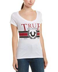 True Religion - Vintage Logo Tee - Lyst