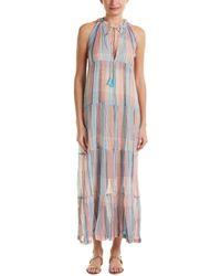 Christophe Sauvat | Check Goa Lai Lai Maxi Dress | Lyst
