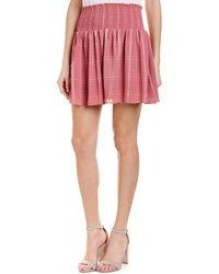 Parker - Smocked A-line Skirt - Lyst