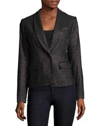 Tracy Reese - Solid Shimmer Blazer - Lyst