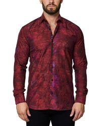 Maceoo - Shaped-fit Luxor Camo Dress Shirt - Lyst