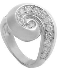 Heritage Van Cleef & Arpels - Van Cleef & Arpels 18k 0.50 Ct. Tw. Diamond Ring - Lyst