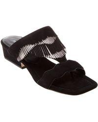 97139b26408 Lyst - Steve Madden 'darcie' Ankle Strap Sandal in Black