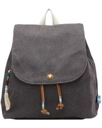 TOMS - Slate Canvas Poet Backpack - Lyst