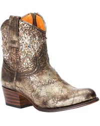 Frye - Deborah Studded Leather Boot - Lyst