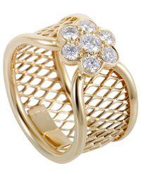 Heritage Van Cleef & Arpels - Van Cleef & Arpels 18k 0.34 Ct. Tw. Diamond Ring - Lyst