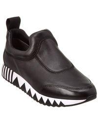 Tory Burch - Jupiter Leather Sneaker - Lyst