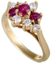 Heritage Tiffany & Co. - Tiffany & Co. 18k 0.55 Ct. Tw. Diamond & Ruby Ring - Lyst