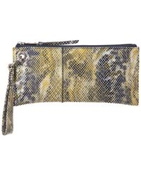 Hobo - Vida Leather Wristlet Leather Wallet - Lyst