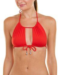 La Perla - Robin Piccone Triangle Bikini Top - Lyst