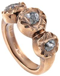 Damiani - 18k Rose Gold & Rhodium 1.70 Ct. Tw. Diamond Ring - Lyst