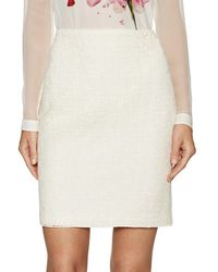 Akris - Open Weave Pencil Skirt - Lyst