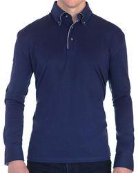Robert Talbott - Brannon Jersey Button Knit Shirt - Lyst