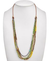 Elise M - Beaded 33in Necklace - Lyst