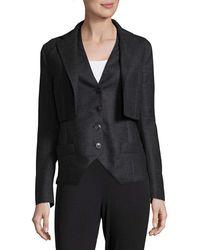 Akris - Wool Vest And Jacket Set - Lyst
